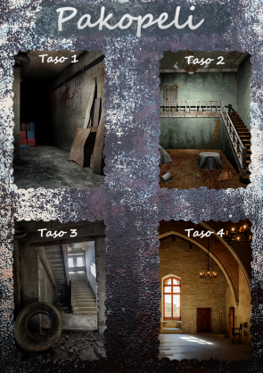 Etäaktiviteetti Escape game virtual